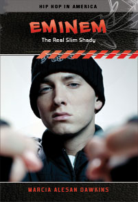 "Eminem—born Marshall Bruce Mathers III—is hailed by <i>Rolling Stone</i> as one of the top 100 ""Greatest Artists of All Time"" and as ""The King of Hip Hop."" He was listed as number 58 in the book <i>100 People Who Are Screwing Up America</i>, has a history of drug and alcohol abuse, and his lyrics are often condemned for containing foul language and promoting violence, misogyny, and homophobia. Eminem has also publicly supported gay rights, made videos that promote voting and anti-bullying, founded a charity to help disadvantaged youth, and changed the face of the recording industry by seeking ""digital reparations"" for all artists. Will the real Marshall Mathers please stand up?"