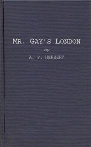 Mr. Gay's London cover image