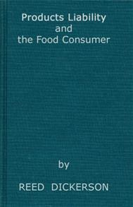 Products Liability and the Food Consumer cover image