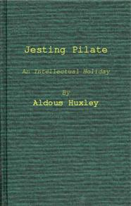 Jesting Pilate cover image