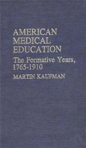 American Medical Education cover image