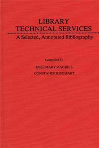 Library Technical Services cover image