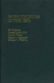 Work Decisions in the 1980s cover image