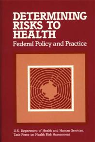 Determining Risks to Health cover image