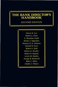 The Bank Director's Handbook cover image