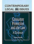 Consumer Protection and the Law cover image