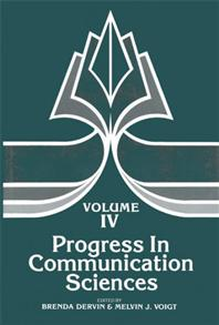 Progress in Communication Sciences, Volume 4 cover image