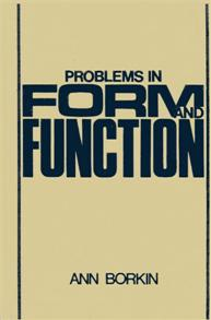 Problems in Form and Function cover image