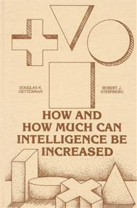 How and How Much Can Intellegence Be Increased cover image