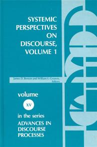 Systemic Perspectives on Discourse, Volume 1 cover image