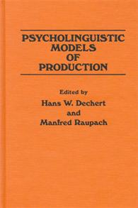 Psycholinguistic Models of Production cover image