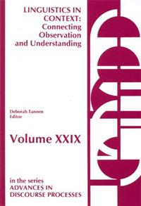 Cover image for Linguistics in Context--Connecting Observation and Understanding