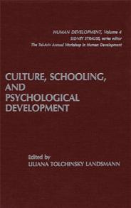 Culture, Schooling, and Psychological Development cover image