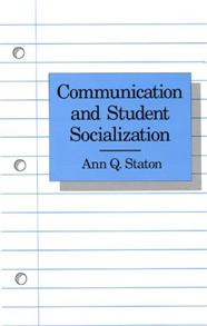 Communication and Student Socialization cover image
