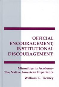 Official Encouragement, Institutional Discouragement cover image