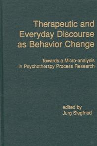 Therapeutic and Everyday Discourse as Behavior Change cover image