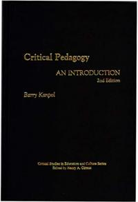 Critical Pedagogy cover image