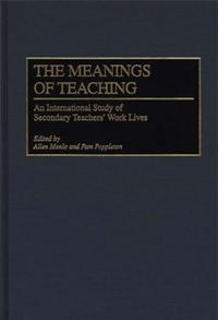 The Meanings of Teaching cover image