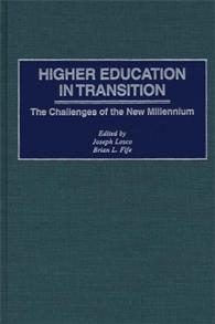 Higher Education in Transition cover image