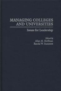 Managing Colleges and Universities cover image