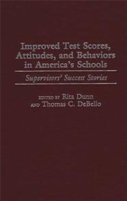 Improved Test Scores, Attitudes, and Behaviors in America's Schools cover image