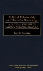 Political Relationship and Narrative Knowledge cover image