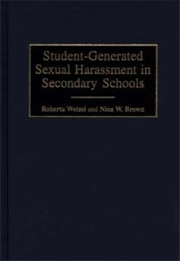 Student-Generated Sexual Harassment in Secondary Schools cover image