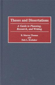 Theses and Dissertations cover image