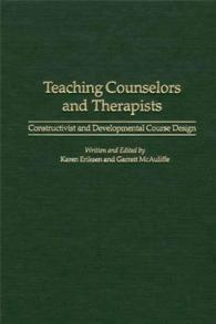 Teaching Counselors and Therapists cover image