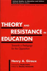 Theory and Resistance in Education cover image