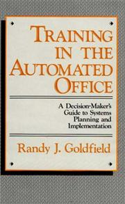 Training in the Automated Office cover image