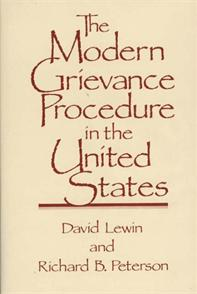 The Modern Grievance Procedure in the United States cover image