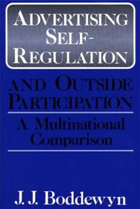 Cover image for Advertising Self-Regulation and Outside Participation