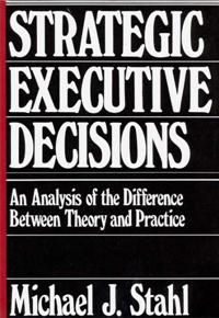 Strategic Executive Decisions cover image