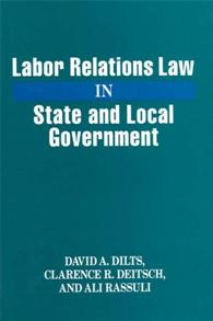 Labor Relations Law in State and Local Government cover image