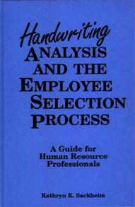 Handwriting Analysis and the Employee Selection Process cover image