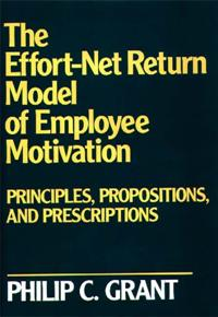 The Effort-Net Return Model of Employee Motivation cover image
