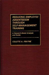 Reducing Employee Absenteeism Through Self-Management Training cover image