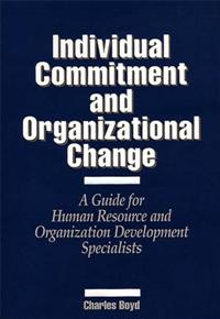 Individual Commitment and Organizational Change cover image
