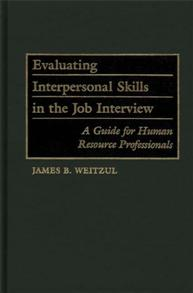 Evaluating Interpersonal Skills in the Job Interview cover image