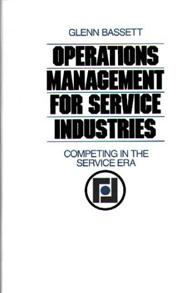 Operations Management for Service Industries cover image