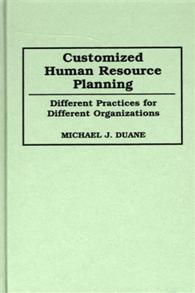 Customized Human Resource Planning cover image