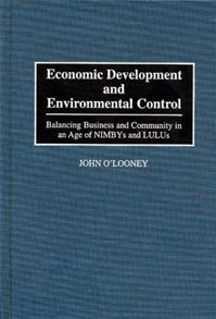 Economic Development and Environmental Control cover image