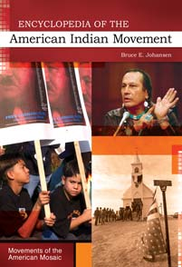 Cover image for Encyclopedia of the American Indian Movement