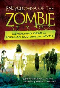 Cover image for Encyclopedia of the Zombie