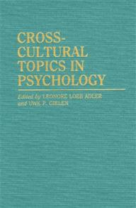 Cross-Cultural Topics in Psychology cover image