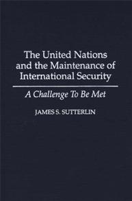 The United Nations and the Maintenance of International Security cover image