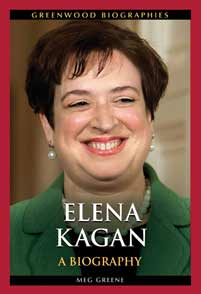 Cover image for Elena Kagan