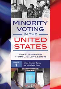 Cover image for Minority Voting in the United States