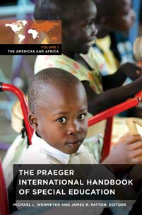 Cover image for The Praeger International Handbook of Special Education